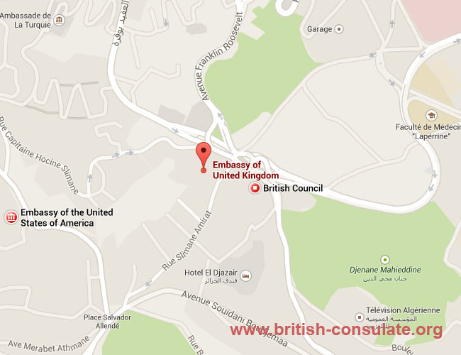 British Embassy in Algeria