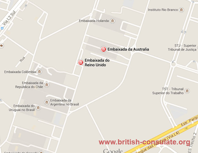 British Embassy in Brazil