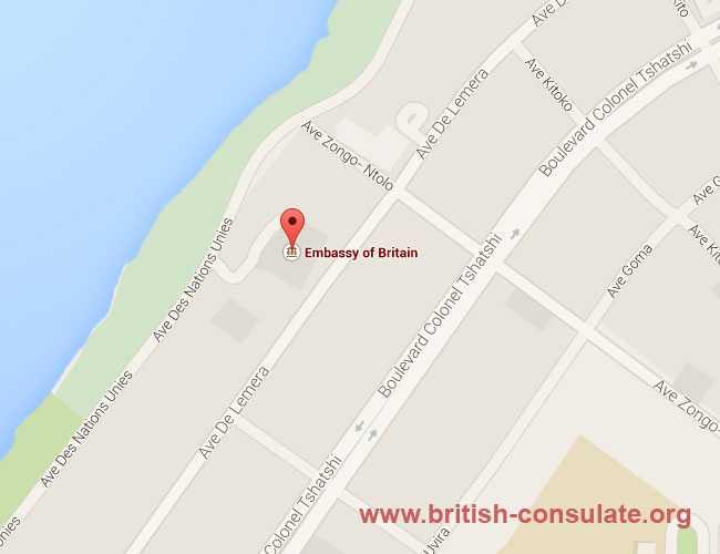 British Embassy in Kinshasa