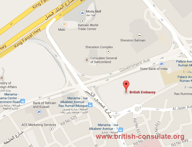 British Embassy in Bahrain