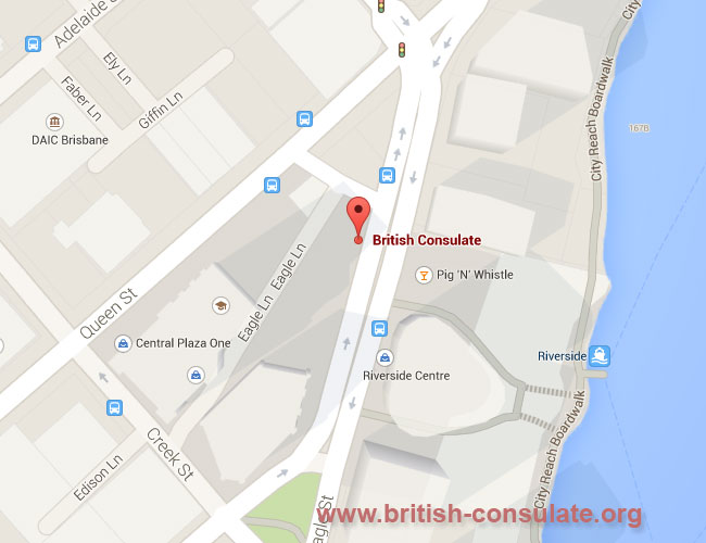 British Consulate in Brisbane