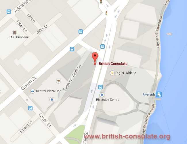 British Consulate in Brisbane