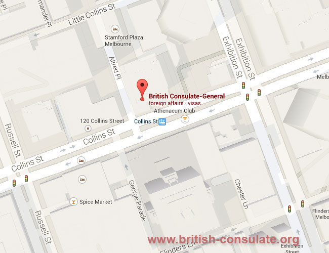 British Consulate in Melbourne