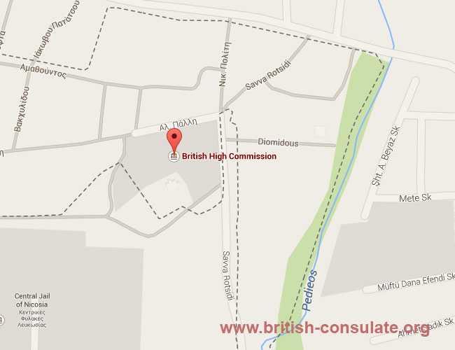 British Embassy in Cyprus   British Consulate