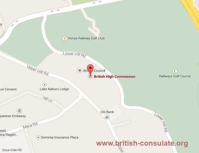 High Commission of United Kingdom in Nairobi, Kenya
