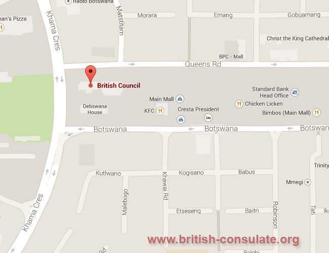 Botswana, Gaborone, British High Commission