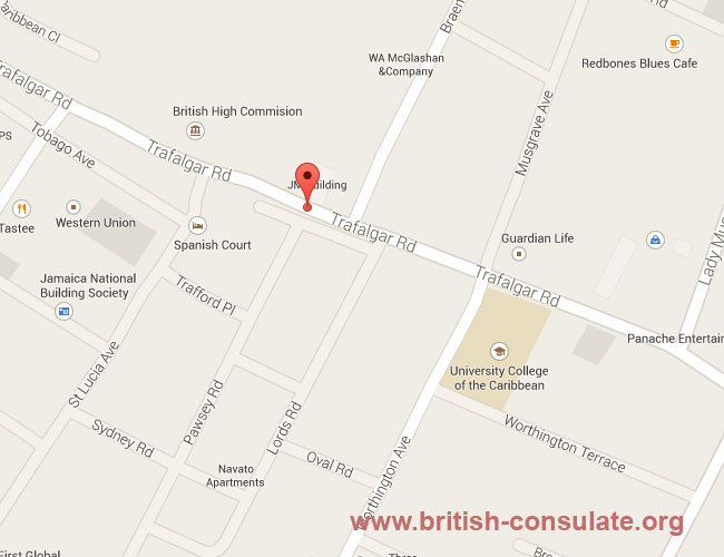 British High Commission in Kingston