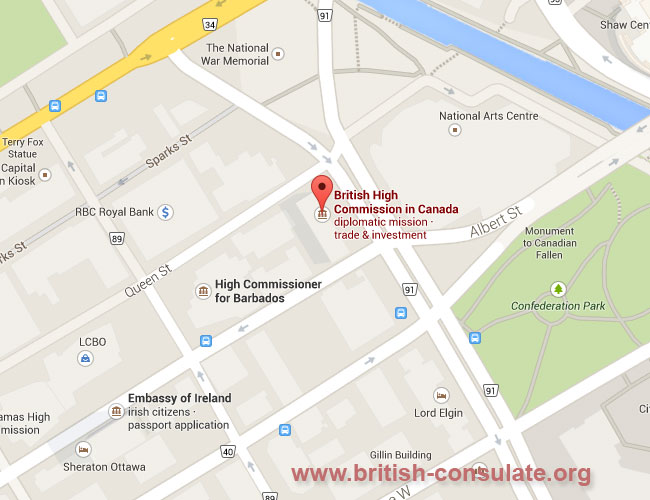 British High Commission Ottawa | British Consulate