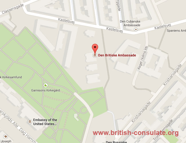 British Embassy in Denmark