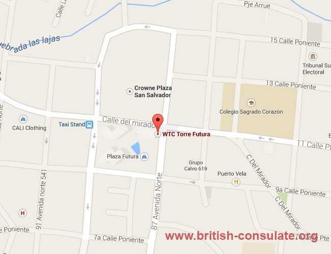 British Embassy in El Salvador