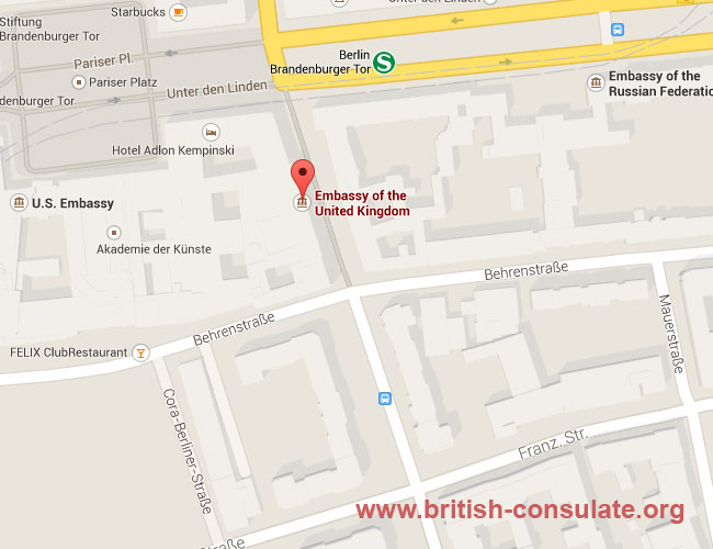 British Embassy in Germany | British Consulate