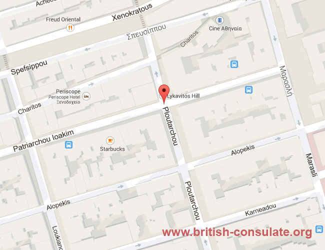 British Embassy in Greece | British Consulate