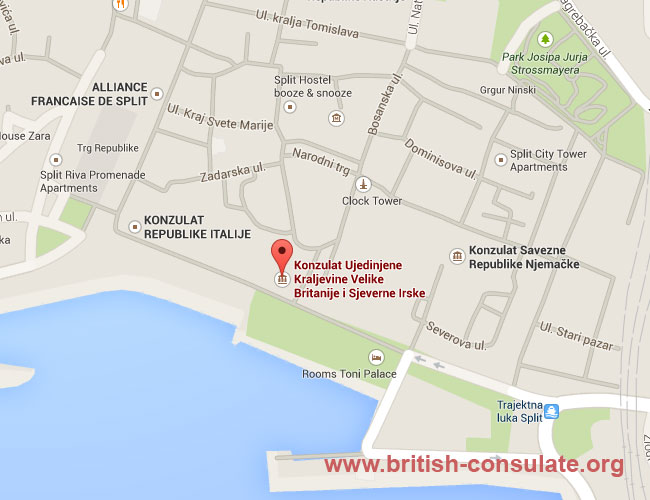 British Embassy in Croatia