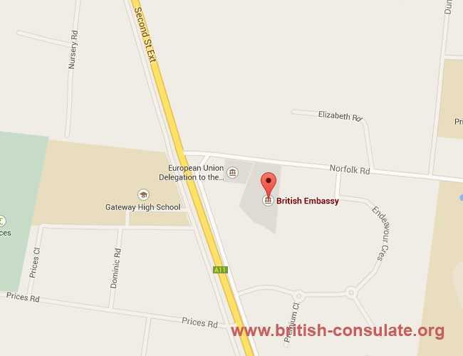 British Embassy in Zimbabwe