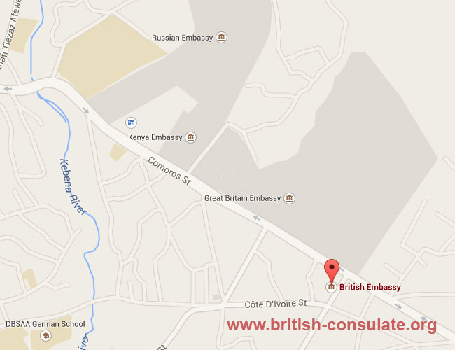 British Embassy in Ethiopia