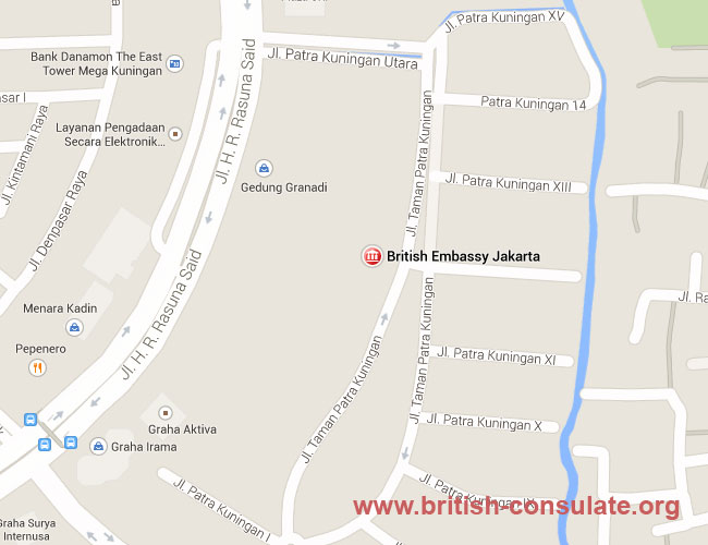 British Embassy in Indonesia