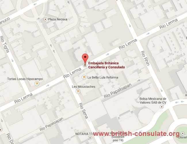 British Embassy in Mexico British Consulate