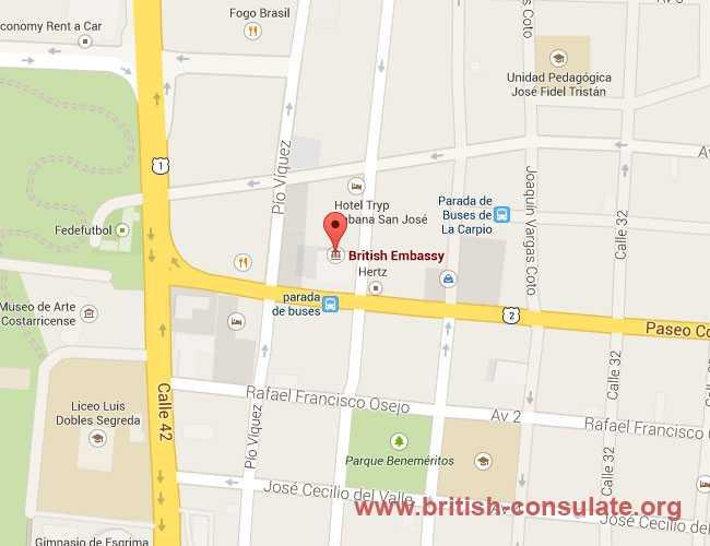 British Embassy in Nicaragua