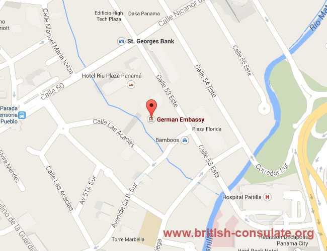 British Embassy in Panama