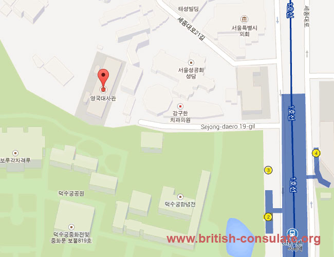 British Embassy in South Korea