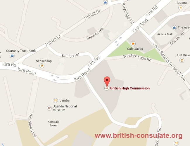 British Embassy in Uganda