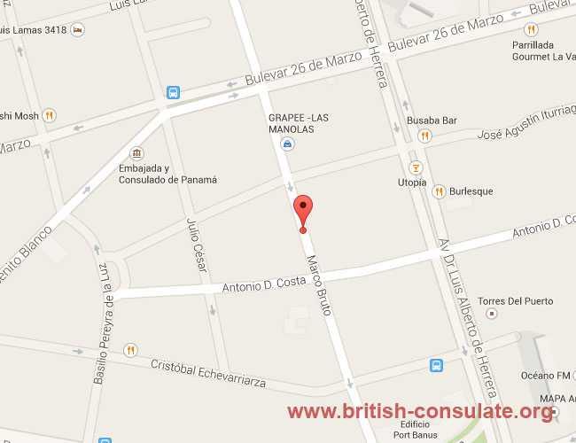 British Embassy in Uruguay