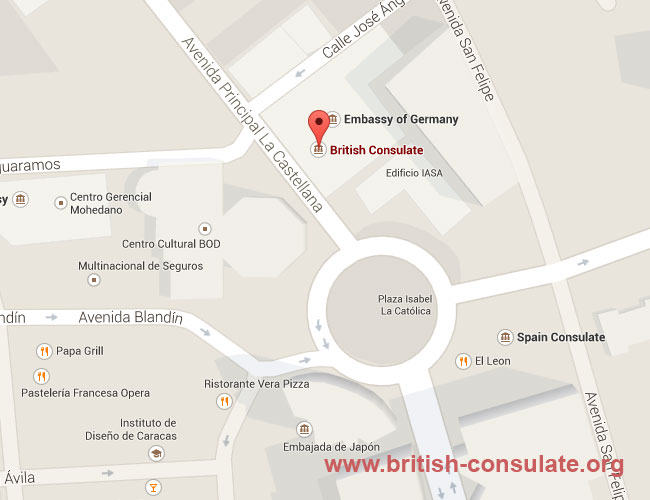 British Embassy in Venezuela