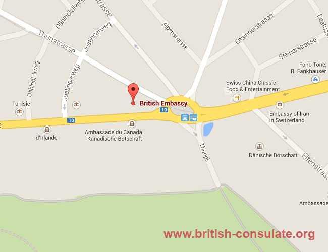 British Embassy Berne