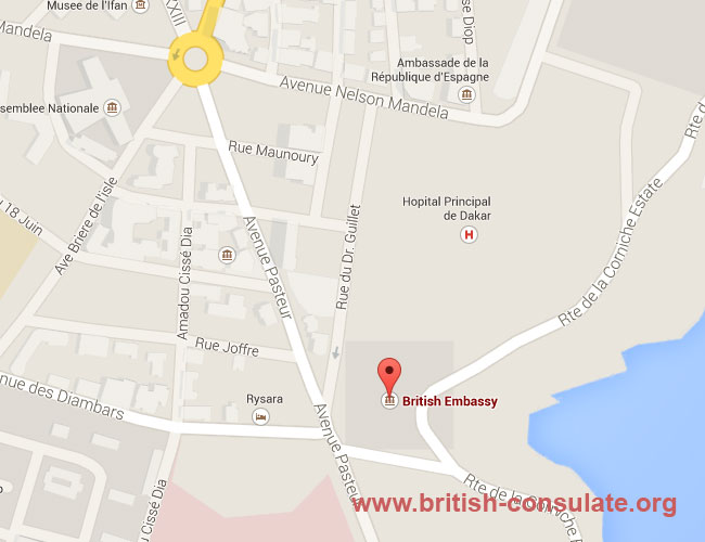 British Embassy in Senegal