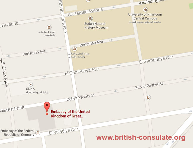 British Embassy in Sudan