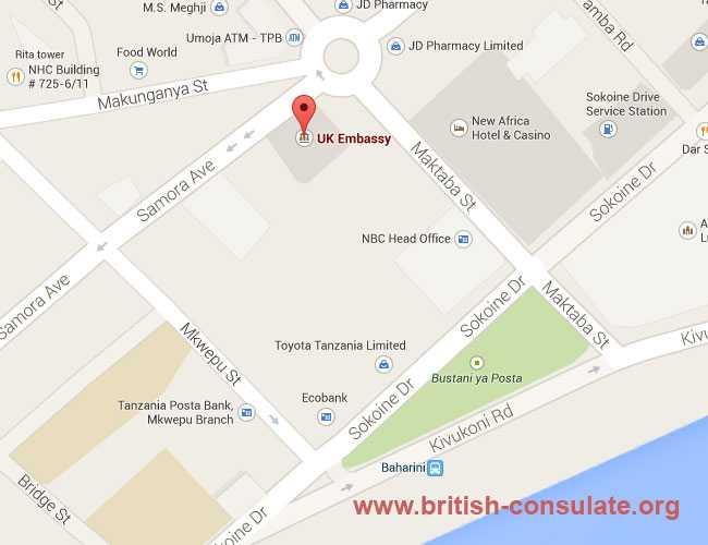British Embassy in Tanzania   British Consulate