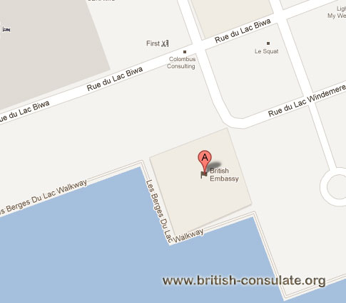 British Embassy in Tunisia