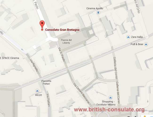 British Consulate-General Milan