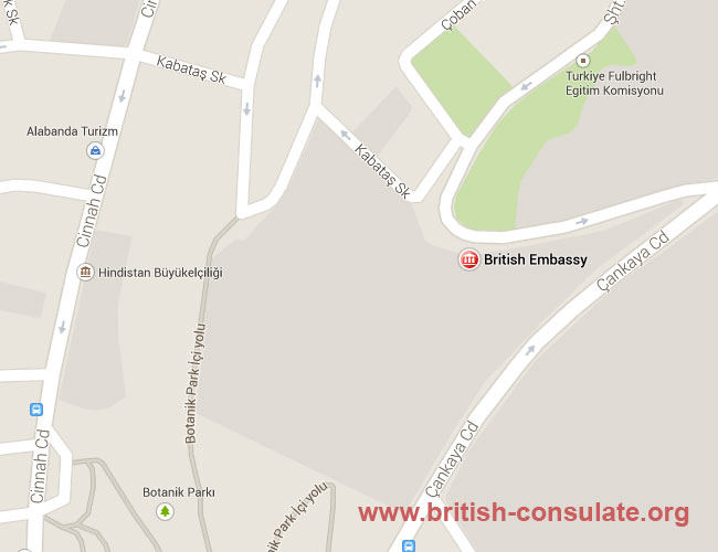 British Embassy in Turkey | British Consulate