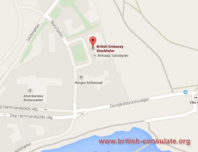 British Embassy in Sweden