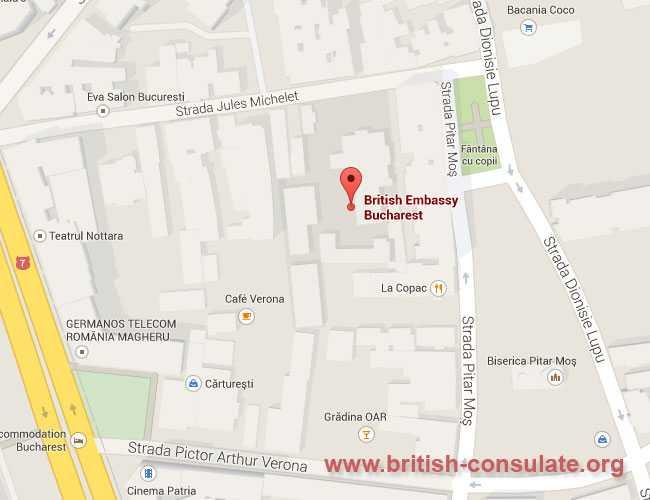 British Embassy in Romania