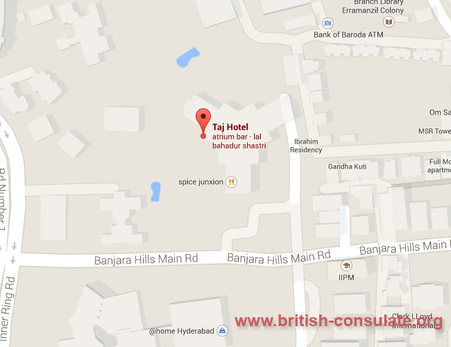 British Deputy High Commission Hyderabad