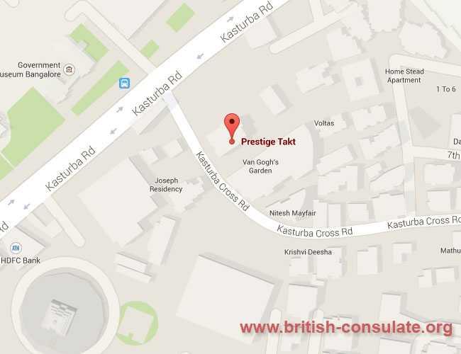 British Deputy High Commission Bangalore