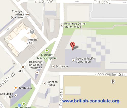 British Consulate in Atlanta