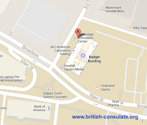 British Consulate in Boston