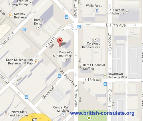 British Consulate in Denver