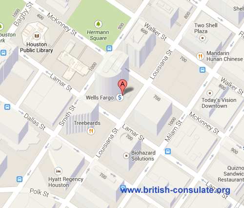 British Consulate in Houston