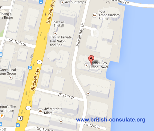 British Consulate in Miami
