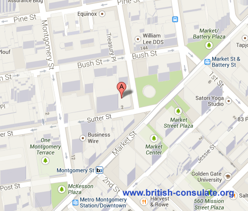 British Consulate in San Francisco