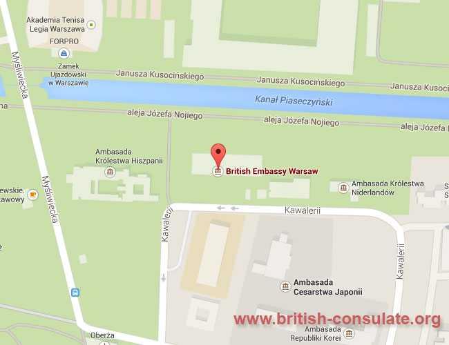 British Embassy in Poland