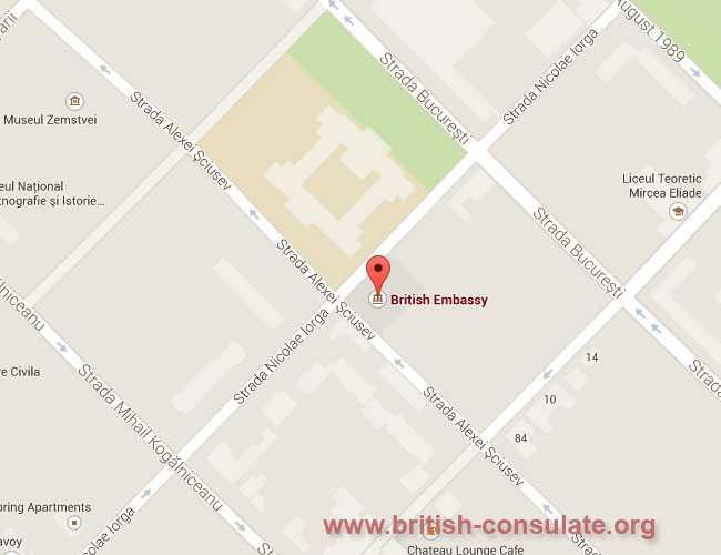 British Embassy in Moldova