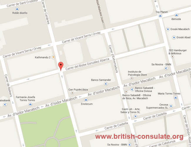 British Consulate Ibiza