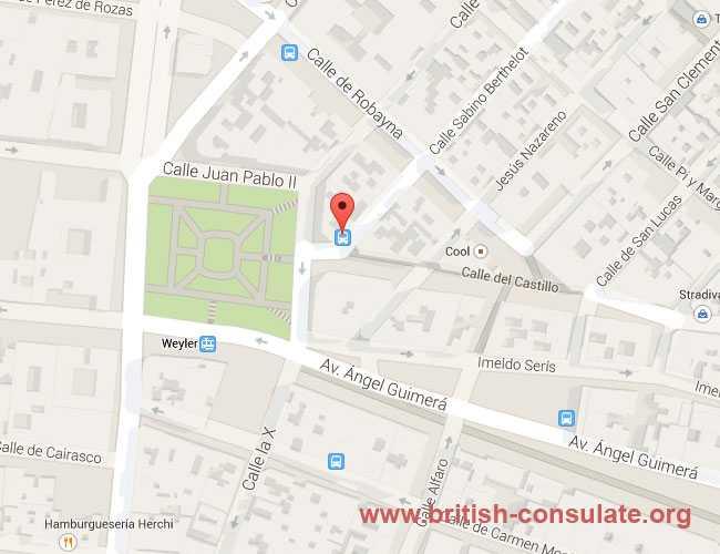 British Consulate Santa Cruz de Tenerife