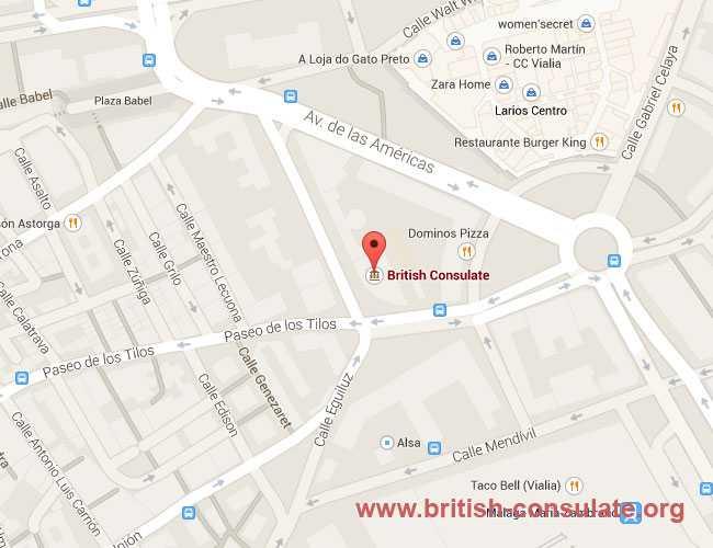British Consulate in Malaga