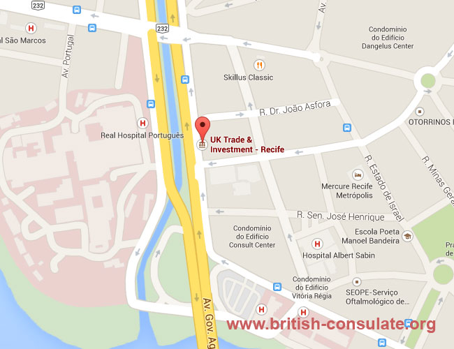 British Consulate in Recife